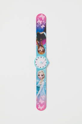 H&M Decorated Snap-on Bracelet - Turquoise