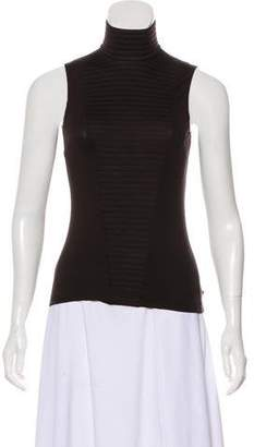 Akris Punto Quilted Sleeveless Top