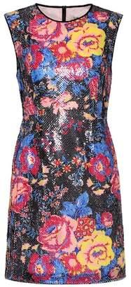 Diane von Furstenberg Sequinned sleeveless minidress