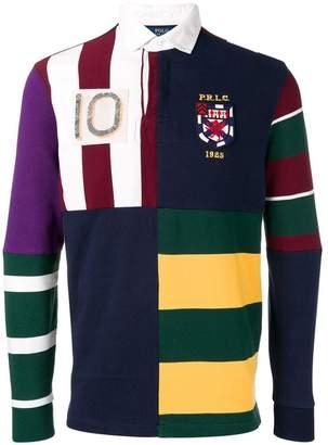 Polo Ralph Lauren patchwork polo shirt