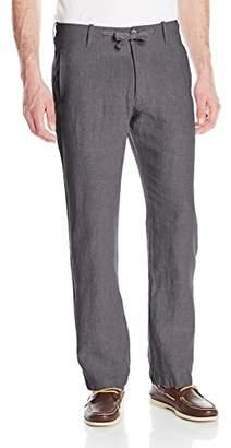 Perry Ellis Men's Drawstring Linen Pant
