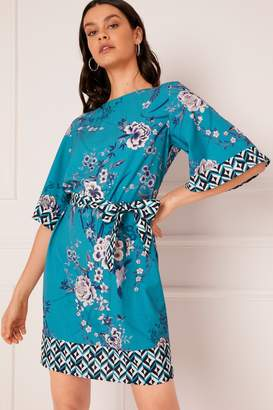 Next Lipsy Anya Geo Print Shift Dress - 6 0b8bf80bb