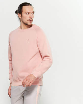 Dickies Construct Pink Long Sleeve Crew Neck Sweatshirt