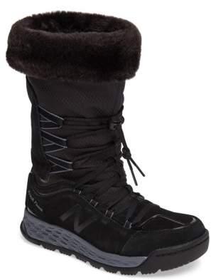 New Balance Q416 1000 Faux Fur Waterproof Platform Boot