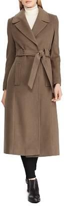 Ralph Lauren Belted Maxi Wrap Coat