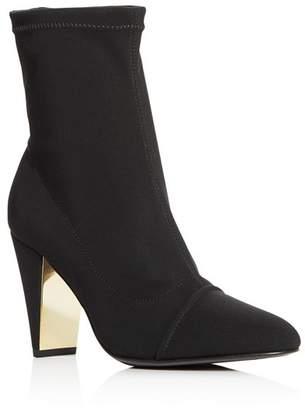 MARION PARKE Women's Devon Cap Toe High-Heel Booties