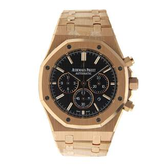 Audemars Piguet Royal Oak Black Pink gold Watches