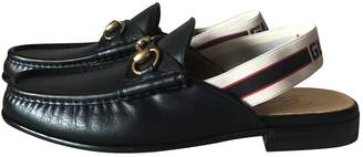 Gucci Princetown leather flats