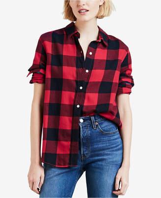 Levi's Ultimate Boyfriend Cotton Button-Detail Shirt