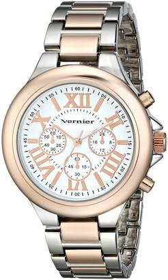Vernier Women's VNR11157TTR Analog Display Japanese Quartz Two Tone Watch