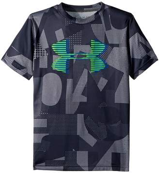 Under Armour Kids Tech Big Logo Printed Tee Boy's T Shirt