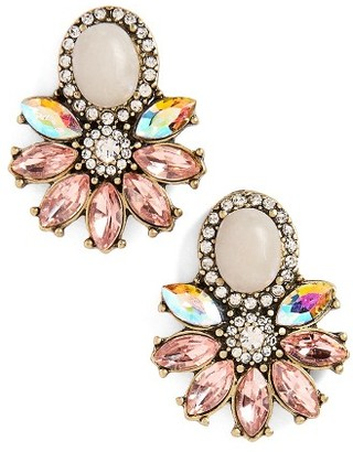 Women's Sole Society Crystal & Stone Earrings $32.95 thestylecure.com