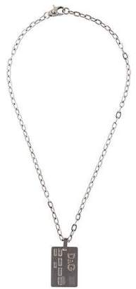 Dolce & Gabbana Credit Card Pendant Necklace