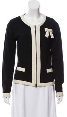Autumn Cashmere Zip-Up Cashmere Cardigan