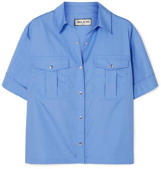 Paul & Joe Platon Cotton Shirt - Blue