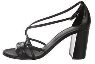 Bottega Veneta Leather High-Heel Sandals
