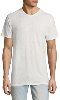 Local Only V-Neck Cotton Henley