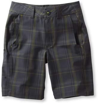L.L. Bean L.L.Bean Boys' Land-to-Sea Shorts, Plaid