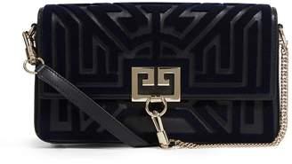 Givenchy Leather Tuftling Labyrinth Pocket Bag