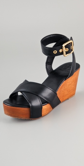 Tory Burch Almita Wedge Sandals