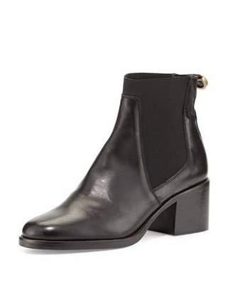 Delman Corie Leather Chelsea Boot, Black $398 thestylecure.com