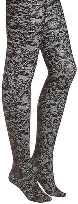 Anne Klein Floral Lace Tights - Women's