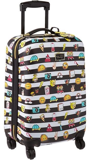 Betsey JohnsonBetsey Johnson - Emoji 3 Small Carry-On Luggage Carry on Luggage
