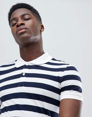 Celio Polo Shirt With Stripe
