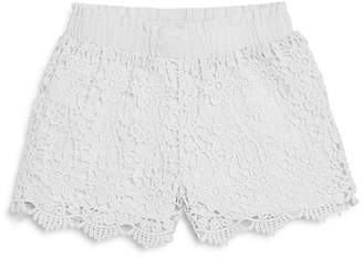 Design History Girls' Crochet Shorts - Little Kid