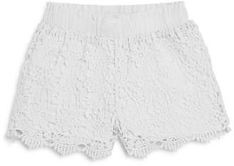 Design History Girls' Crochet Shorts - Little Kid