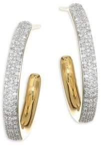 At Saks Fifth Avenue Monica Vinader Fiji Large Gold Hoop Earrings