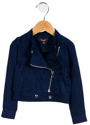 Imoga Girls' Asymmetrical Moto Jacket w/ Tags