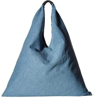MM6 MAISON MARGIELA Blue Jean Hobo Bag