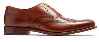 Grenson Dylan Leather Brogues - Mens - Brown
