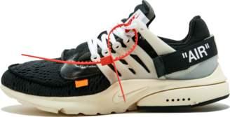 Nike The 10: Air Presto 'Off-White' - Black/Muslin