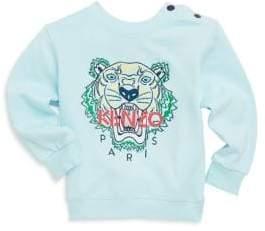 Baby's Tiger Cotton Sweatshirt