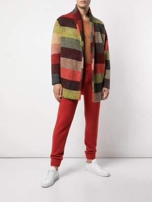 The Elder Statesman cashmere joggin trousers
