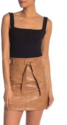 BCBGeneration Bustier Cropped Tank Top