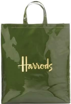 Harrods Signature Logo Large Shopper Bag