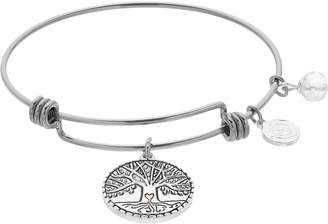 Love This Life love this life Family Tree Charm Bangle Bracelet