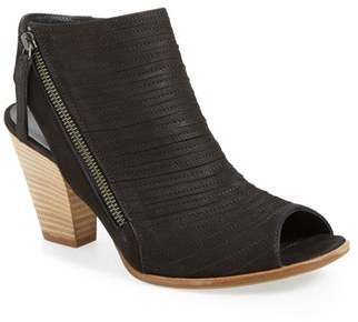 Paul Green 'Cayanne' Leather Peep Toe Sandal $349 thestylecure.com