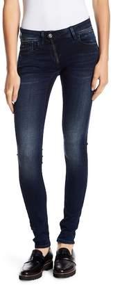 G Star Lynn Zip Mid Skinny Jeans