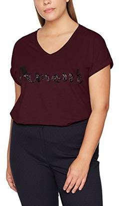 Zizzi Women's SS T-Shirt,(Manufacturer Size: Medium)
