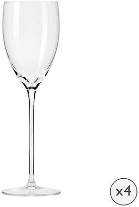 Droplet Handmade White Wine Glass