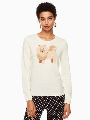 Kate Spade Year of the dog chow chow sweater