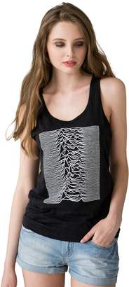 Pulsar Strand Clothing as Joy Division used on Unknown Pleasures Women's Men's Printed Tank Top (M)