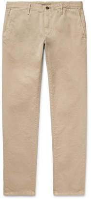 Incotex Slim-fit Cotton-twill Chinos - Beige
