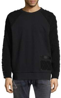 Diesel Crosz Lace-Up Sweater