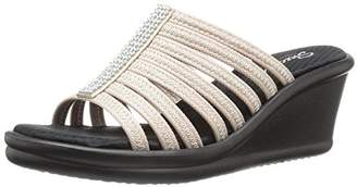 Skechers Cali Women's Rumblers Hot Shot Wedge Sandal
