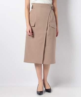 Avan Lily (アヴァン リリー) - Avan Lily サイドポケットミディタイトスカート